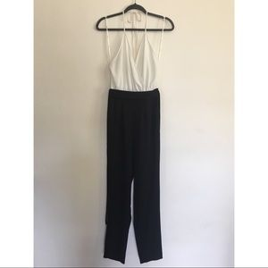 Black & White Pant Jumpsuit